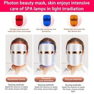 Image 3 - Belleza Facial LED Mask Beauty Skin Rejuvenation Photon Masque LED Facial Mask Therapy Anti Wrinkle Acne Tighten Skin Care Tool