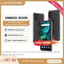 Umidigi Bison IP68/IP69K Waterdichte Robuuste Telefoon 48MP Matrix Quad Camera 6.3