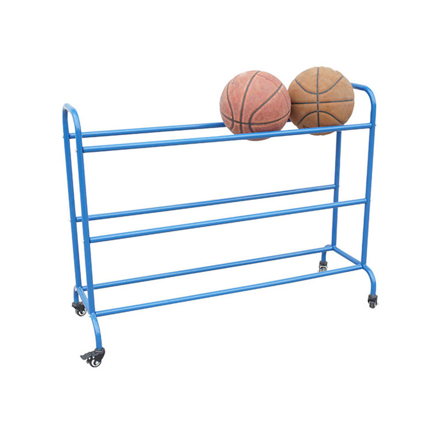 Rack Support Display-Stand Football Basketball-Storage Training Outdoor with Wheel Movable