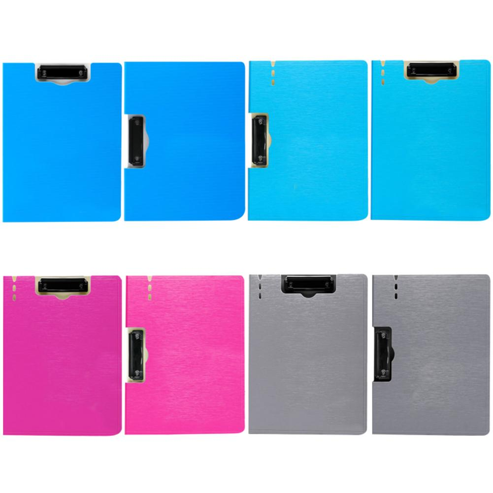 File Folder Document Clipboard Foam Board Clip A4 Size Writing Board Folding Folder Business Conference Office Work School Test