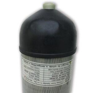 Image 4 - Acecare 9l ce pcp hpa 탱크 4500psi 탄소 섬유 가스 실린더 다이빙 압축 공기 탱크 공기 소총 pcp 콘도르 밸브 m18 * 1.5