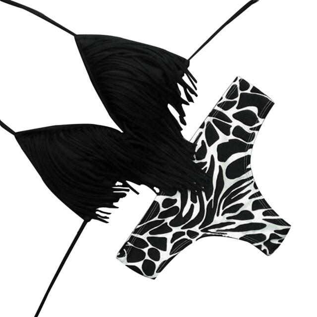 KANCOOLD Women Sexy Sport Bra Sets Camouflage Letter Print Lingerie Set Push Up Seamless Corset Bralette Summer Thong Bikini Set