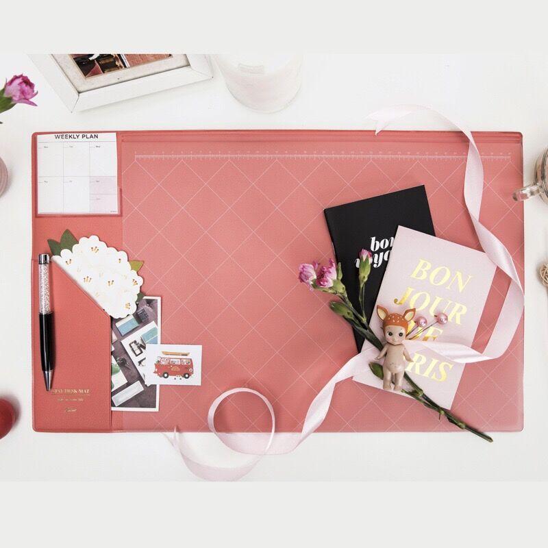 Multifunctional  Fashion Desktop Organizer Pad & Laptop Mouse Pad Thickened Anti-slip  4