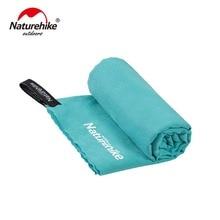 Naturehike быстрое высыхание карманное полотенце портативное водопоглощающее и Впитывающее пот полотенце не скатывается Спортивное банное полотенце NH19Y001-J