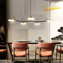 цена Modern Light Luxury LED Pendant Lamp Lighting Nordic Personality Art Pendant Lights Restaurant Hotel Living Room Bedroom Lamp онлайн в 2017 году