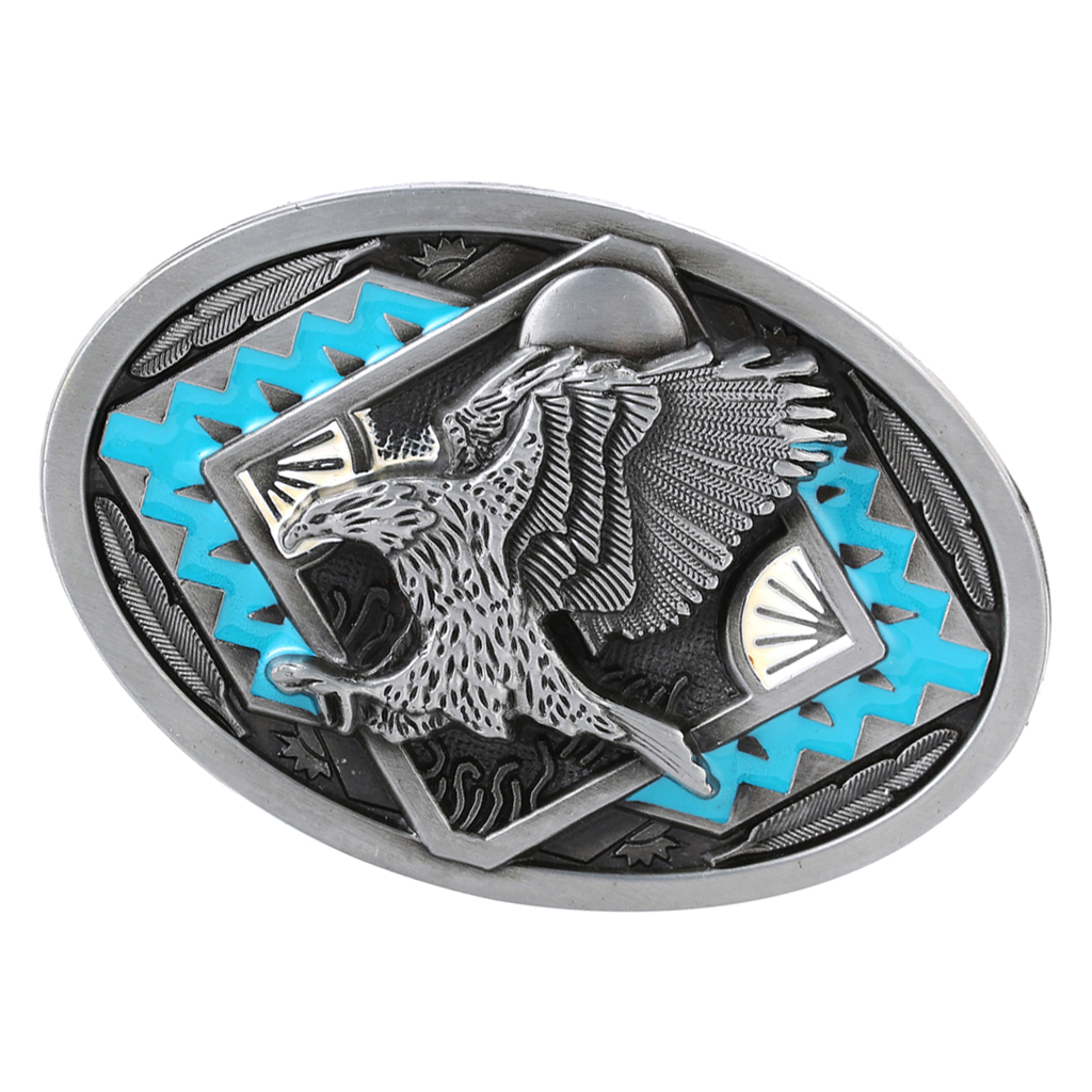 Men's Belt Buckle Buckle Vintage Eagle Pattern Belt Buckle Western Fits For Denim Belt Trouser Belt Cool Mans Gift