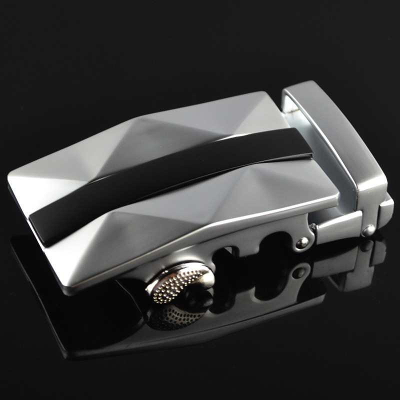 Genuine Men's Belt Head,Belt Buckle,Leisure Belt Head Business Accessories Automatic Buckle Width 3.5CM Luxury FashionLY125-0293