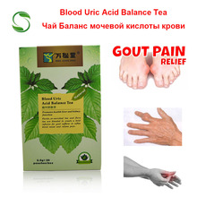 40 個/2 パック血中尿酸バランス茶ため関節痛浮腫炎症痛風治療脂肪低減純粋な天然ハーブティー
