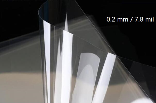 A4 Size 0.2mm Glossy Transparent Clear Plastic Report Cover PVC Acetate Sheets 200 Micron 2/10/20/30/40 You Pick