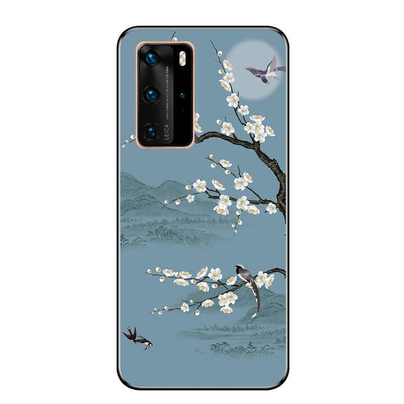 עבור Huawei P40 פרו מקרה רך שחור פגוש סיליקון TPU כיסוי עבור Huawei P40 לייט P 40 פרו טלפון כיסוי p40 Lite E 2020