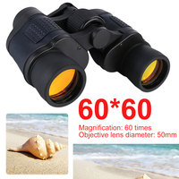 Outdoor Night Vision binocular 60X60 Binoculars 3000M Waterproof High Power Fixed Zoom Telescope