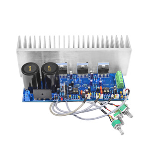 Image 3 - AIYIMA TDA7294 80W*2+100W HIFI Fever 2.1 Channel Subwoofer Power Audio Amplifier Board With Radiator DIY For Home sound Theater