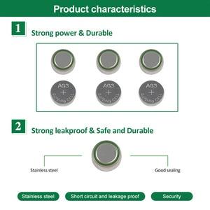 Image 2 - PHOMAX 10 pz/pacco giocattolo calcolatrice LR41 CX41 384 alcalina del tasto della batteria della batteria AG3 SR41 192 392A L736 batterie per orologi