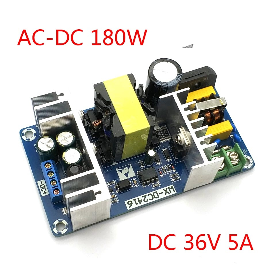 AC 100-240V To DC 36V 5A  180W Switching Power Supply Module AC-DC