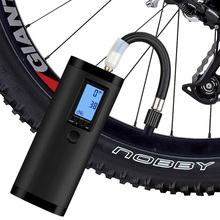 Bomba de ar multi função para a bola e pneus da bicicleta do carro compressor de ar portátil mini inflator de ar elétrico recarregável inteligente