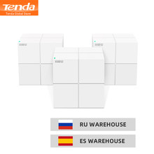 Tenda MW6 Wireless AC1200 Mesh Router WiFi Repeater Dual Band 2.4G/5G Whole Home Mesh Wireless Wifi System,APP Manage/Easy setup(China)