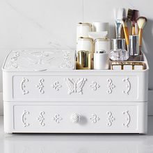 Multi-layer Plastic Makeup Drawers Storage Box Jewelry Container Make up Organizer Case Cosmetic Office Boxes Large Capacity multi layer plastic makeup drawers storage box jewelry container make up organizer case cosmetic office boxes large capacity