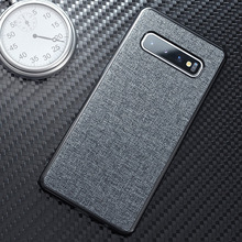 Cloth Fabric Case For Samsung Galaxy S10 S9 S8 S5 A50 A30 A70 A40 M20 A9 A7 A8 J8 J2 J4 J6 2018 Plus Lite Cover Coque