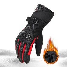 SUOMY мотоциклетные перчатки мужские водонепроницаемые ветрозащитные зимние перчатки Gant Moto перчатки с сенсорным экраном Guantes мотоциклетные перчатки для верховой езды