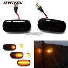Luz LED de señal de giro dinámica, indicador lateral, embellecedor de indicador secuencial para Audi A3, S3, 8P, A4, S4, RS4, B6, B7, A6, S6, RS6, C6, 05 08