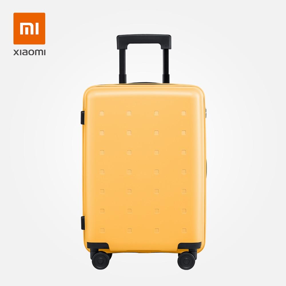 Xiaomi чемодан Молодежная версия 20 дюймов красочный багаж стильный для женщин и мужчин модный дорожный синий желтый