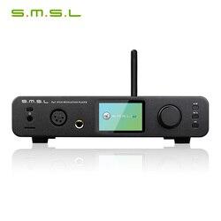 SMSL DP3 DSD Balanceadas e não balanceadas Amplificador de Auscultadores HIFI Digital Turntable Disco Rígido de Rede WI-FI Leitor de Música