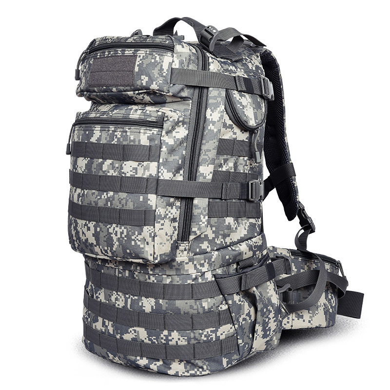 Outdoor Multi-functional Mountaineering Bag Molle Multi-Mount Backpack Steel Frame Back A Generation Of Fat Manufacturers Supply