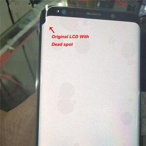 Оригинальный ЖК-дисплей Dead spot для Samsung Galaxy S9 + G965F G965W, дигитайзер сенсорного экрана, ЖК-дисплей без рамки для Samsung G965 G965U