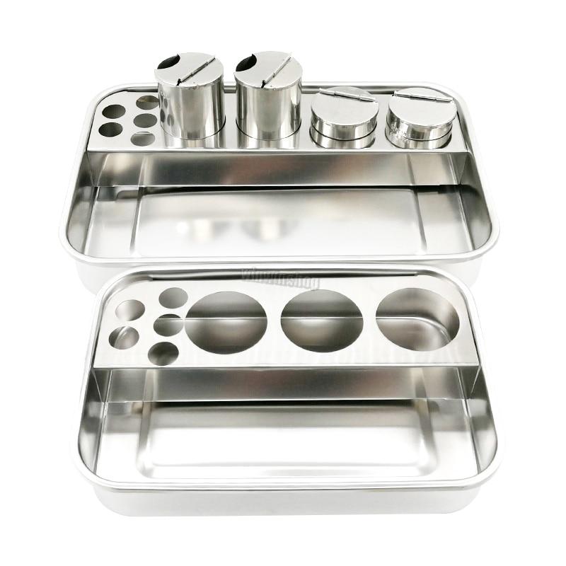 1 conjunto novo dental instrumentos caixa instrumento de laboratorio dental carga
