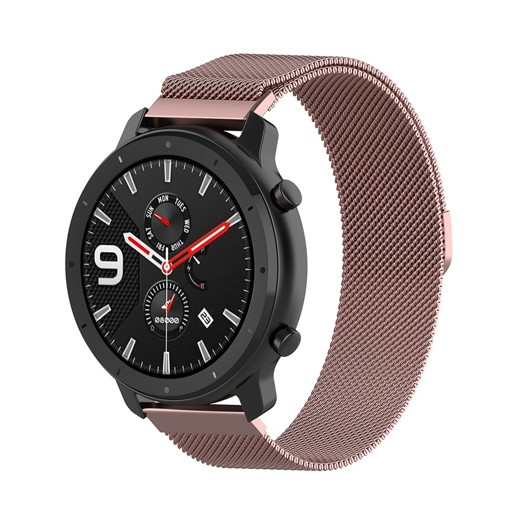 Metal Stainless Steel Strap for Xiaomi for Huami Amazfit GTR 47mm Bracelet Wrist Band for Huami Amazfit Bip BIT Youth Watchband