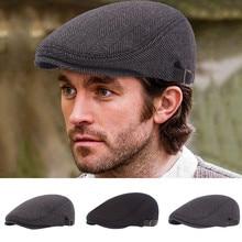 Peaky Blinders мужские береты, шапка для зимы и осени, винтажная восьмиугольная кепка в елочку, Мужская Женская Теплая Повседневная в стиле Гэтсби, плоская кепка# Y1