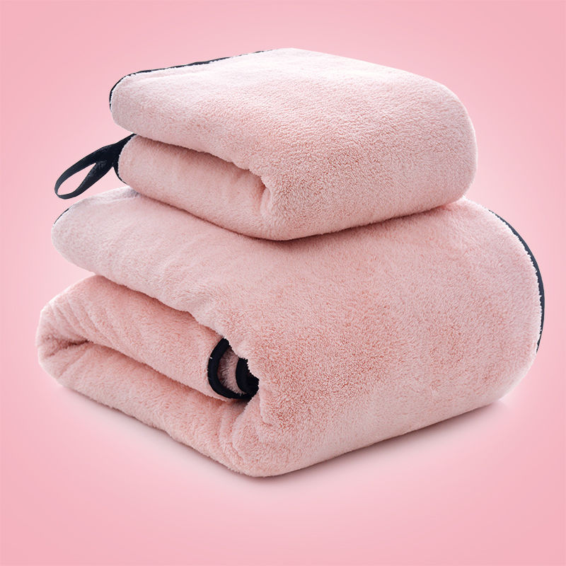 Bath Towel Towel Set Adult Water-Absorbing Men And Women Children Household Than Soft And Not Shed Couples Bath Towel Wrap-aroun