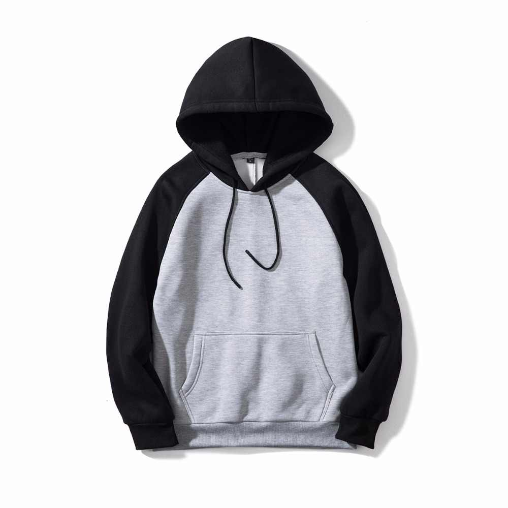 נים גברים/נשים 2018 סתיו חדש מוצק טלאים סלעית חולצות זכר מזדמן ספורט ארוך שרוול סוודר Mens אימונית