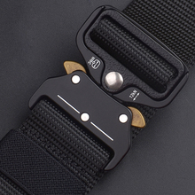 Tactical Belt New Breathable Outdoor Nylon Belt Military Hig