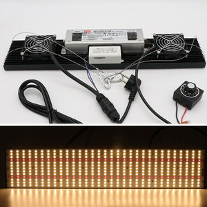 Image 5 - 2020 Newest Dimmable 408 Samsung lm301h 3000K 3500K 660nm Red quantum tech led board 240W Led Grow Light Full Spectrum
