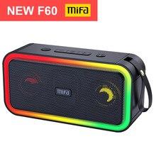 Mifa F60 40W potencia de salida Altavoz Bluetooth con amplificador de Clase D excelente bajo Performace Hifi altavoz, IPX7 impermeable