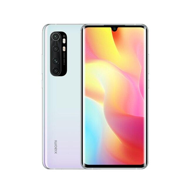 Global Version Xiaomi Mi Note 10 Lite 6GB 128GB Smartphone Snapdragon 730G Octa Core 64MP Quad Camera 6.47 AMOLED Screen 5260mAh 3