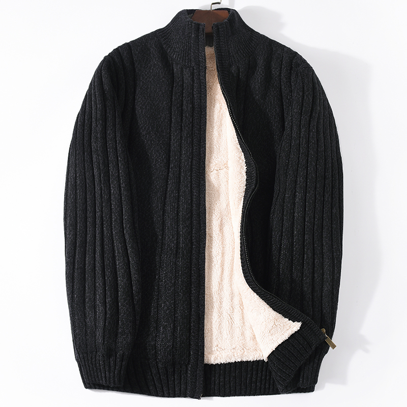 Men's Sweater Winter Sweater Coat Man Clothes 2020 Knitted Thick Warm Cardigan For Men Pull Homme Plus Size Homme SL203-1