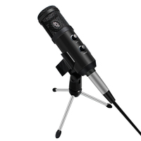 Bm 900 Condenser Usb Microphone With Stand Tripod Microfono Karaoke Mikrofon Set For Computer Professional Upgraded From Bm 800