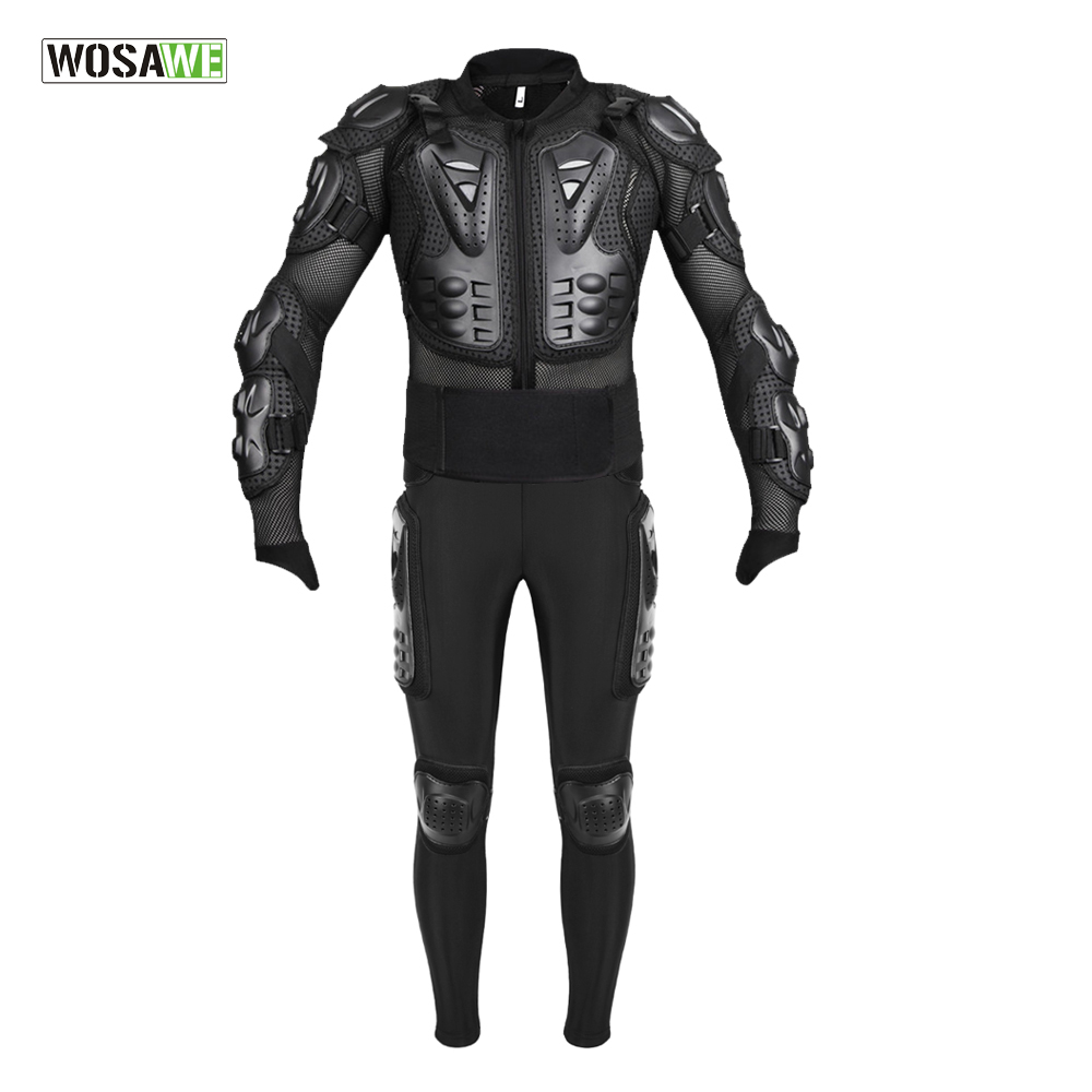 WOSAWE EVA Jacket for Skiing Riding Protection Armor Motocross Equipment Racing Body Ptotective Gears Combination|Snowboarding Sets| - AliExpress