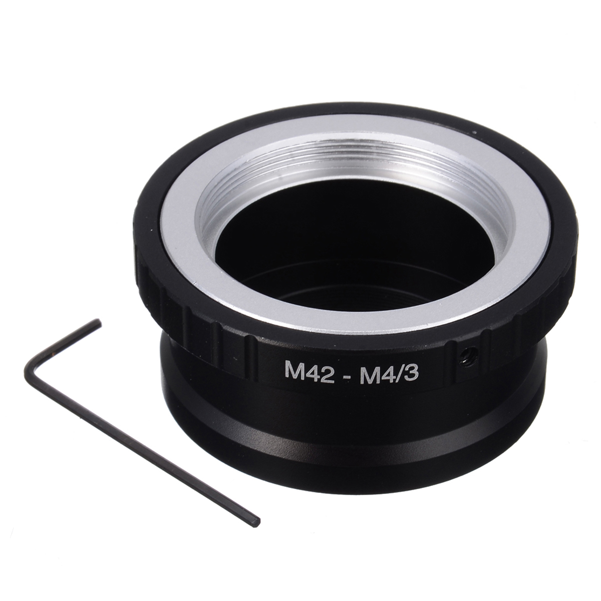 Adapter Ring for M42 Lens to Micro 4/3 Mount Camera Lens Adapte for Olympus for Panasonic DSLR Cameras Accessories image