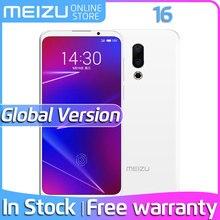 """Meizu 16 6 ГБ ОЗУ 64 Гб ПЗУ глобальная версия телефон Snapdragon 710 Восьмиядерный 6,"""" FHD экран двойная задняя камера в экране отпечаток пальца"""