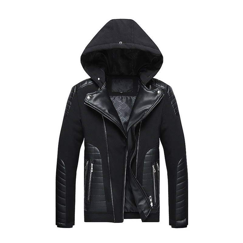 Men High Quality Fashion   Parkas   Winter Male New Arrival Warm Fashion   Parka   Coats Men's Casual Jacket Hooded   Parkas