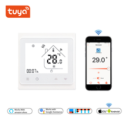 Temperature Controller for Water/Electric floor Heating Water/Gas Boiler Tuya APP Remote Control /WiFi Smart Touch Thermostat