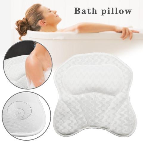 amortecido banheira travesseiro encosto de cabeca pescoco