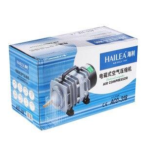 Image 5 - NEW Aquarium electromagnetic air compressor 70L/min 45W fish tank air pump increasing oxygen pump HAILEA ACO 318