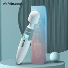 Sex Spielzeug Produkte Zauberstab AV Vibrator Erwachsene Frauen Masturbation Klitoris Stimulator Starke G-Spot