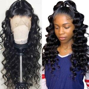 13*6 mongol crépus bouclés cheveux humains perruques 150% densité cheveux humains perruques 13X4 dentelle avant cheveux humains perruques Remy cheveux