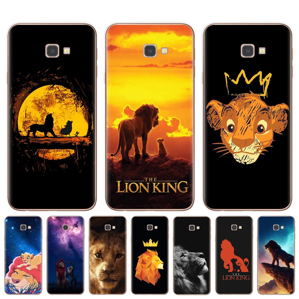 Lion King Hakuna Matata Phone Case For Samsung J3 J5 <font><b>J7</b></font> 2016 2017 J4 J6 Plus 2018 Note 10 Pro Cover TPU Cases Silicone <font><b>Capinha</b></font> image
