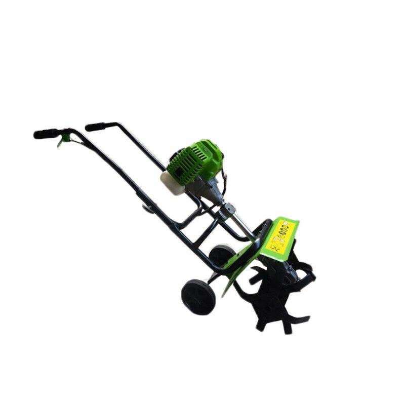 Micro machine de travail du sol essence cultivateur cultivateur ripper rotatif motoculteur verger terres arables désherbage machine multifonction